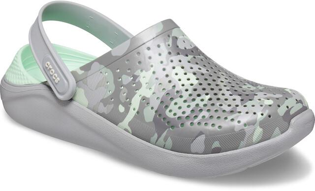 Crocs LiteRide Printed Camo Clogs neo